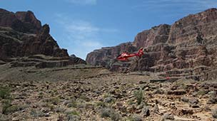 Helikopter till Grand Canyon